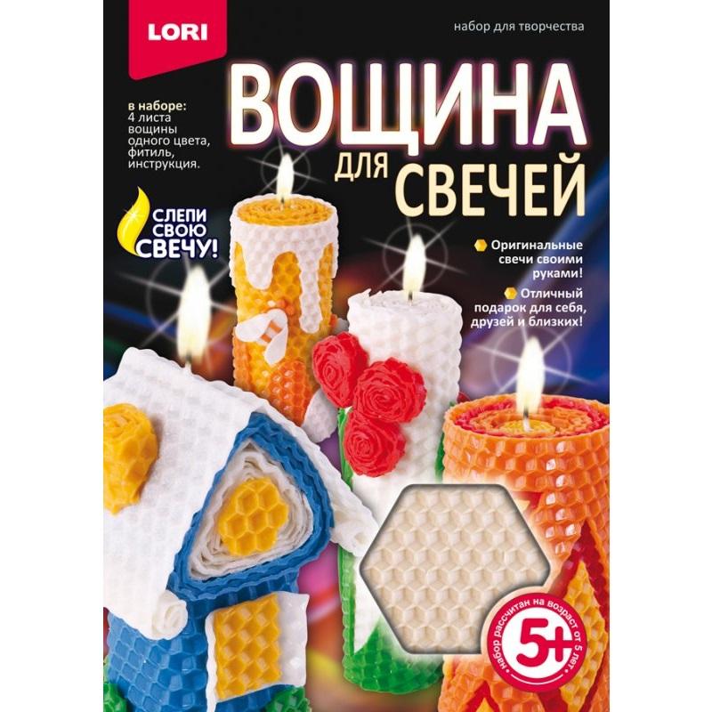 Купить Вощина для свечей - Белая, ЛОРИ