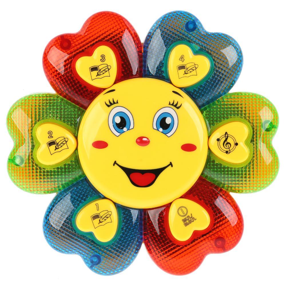 Купить Обучающая игрушка - Солнышко, 16 стихотворений А. Барто, песни, Умка