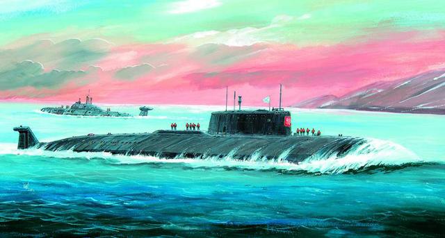Подарочный набор - Модель для склеивания - Подводная лодка КурскМодели кораблей для склеивания<br>Подарочный набор - Модель для склеивания - Подводная лодка Курск<br>