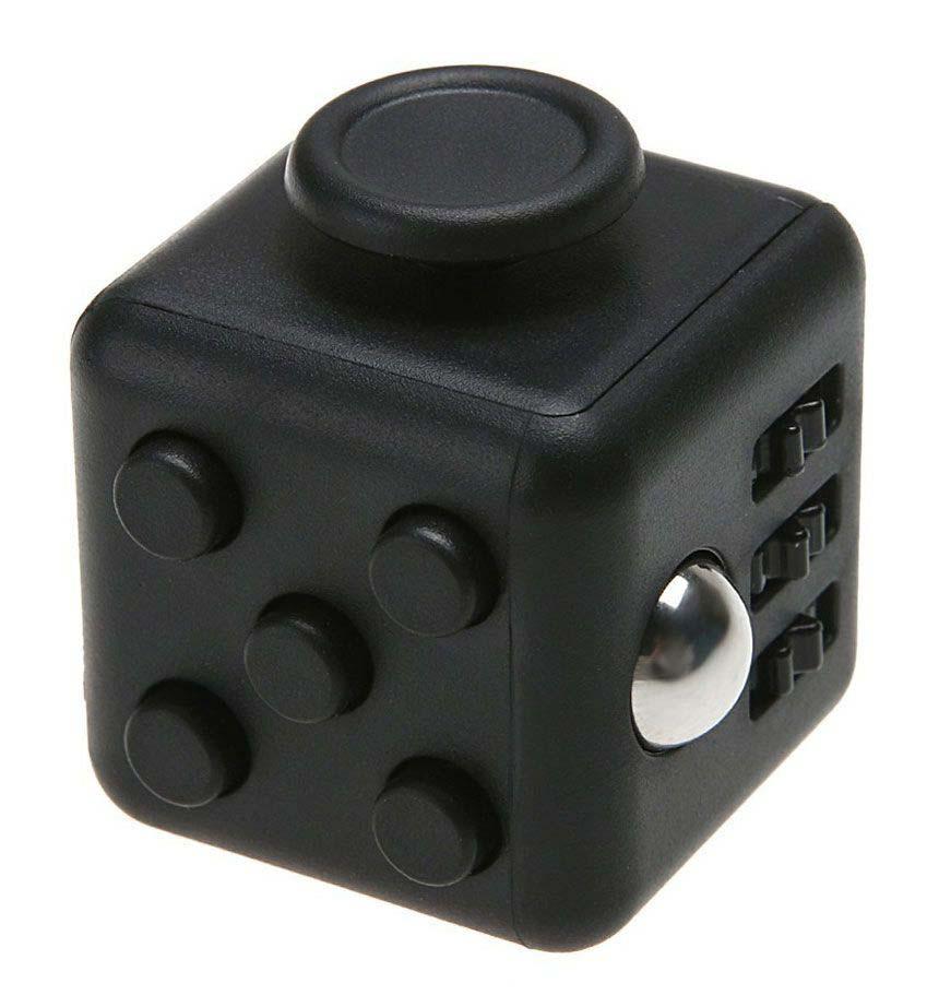 Игрушка-антистресс - FidgetCube Light, черный-черныйАнтистресс кубики Fidget Cube<br>Игрушка-антистресс - FidgetCube Light, черный-черный<br>