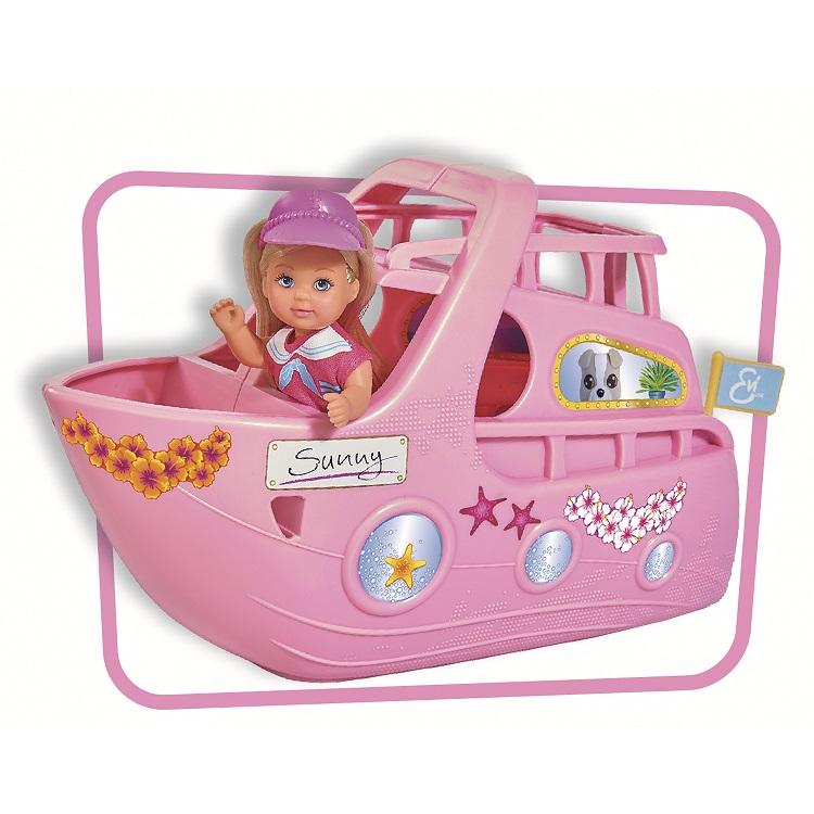 Кукла Еви на круизном корабле, 12 см.Куклы Еви<br>Кукла Еви на круизном корабле, 12 см.<br>