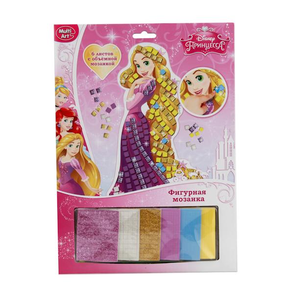 Набор для творчества Disney Принцессы - Фигурная мозаика со стразамиТворчество<br>Набор для творчества Disney Принцессы - Фигурная мозаика со стразами<br>