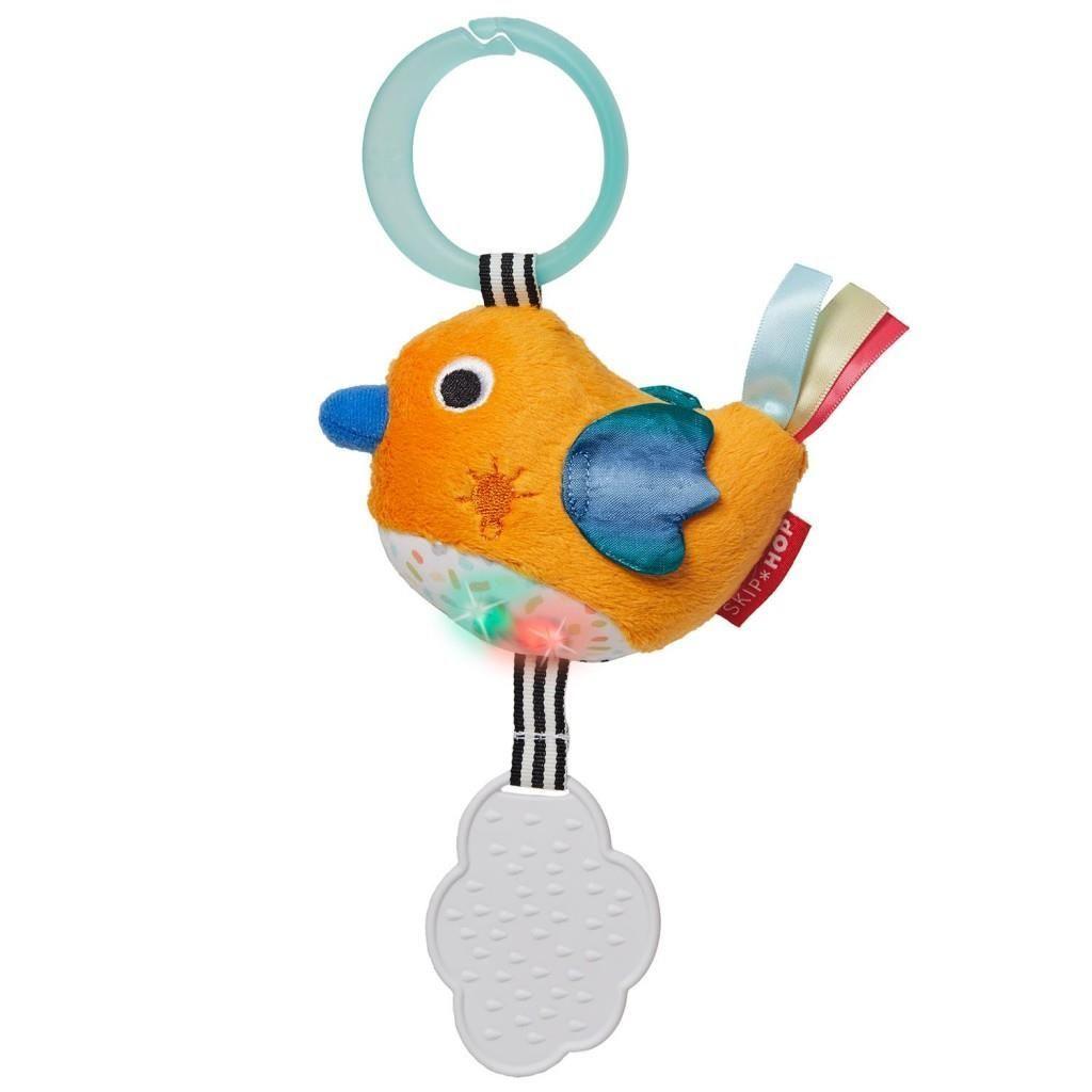 Развивающая игрушка-подвеска - ПтичкаРазвивающая дуга. Игрушки на коляску и кроватку<br>Развивающая игрушка-подвеска - Птичка<br>