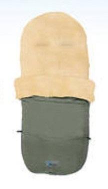 Купить Зимний конверт MT2280-LP Lambskin-Bugaboo Footmuff, olive, Altabebe