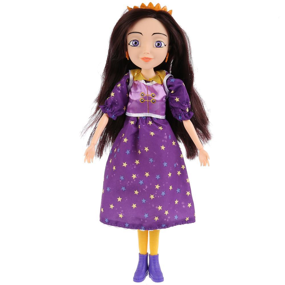 Кукла озвученная из серии Царевны - Соня, 29 см, 15 фраз и песен из мультфильма, Карапуз  - купить со скидкой