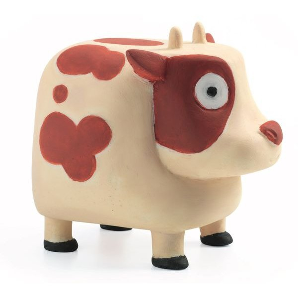 Купить Звуковая игрушка - Корова Му, Djeco