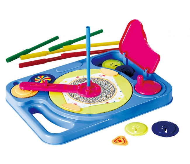 Игровой набор - Крутим и рисуемРазвивающие игрушки PlayGo<br>Игровой набор - Крутим и рисуем<br>