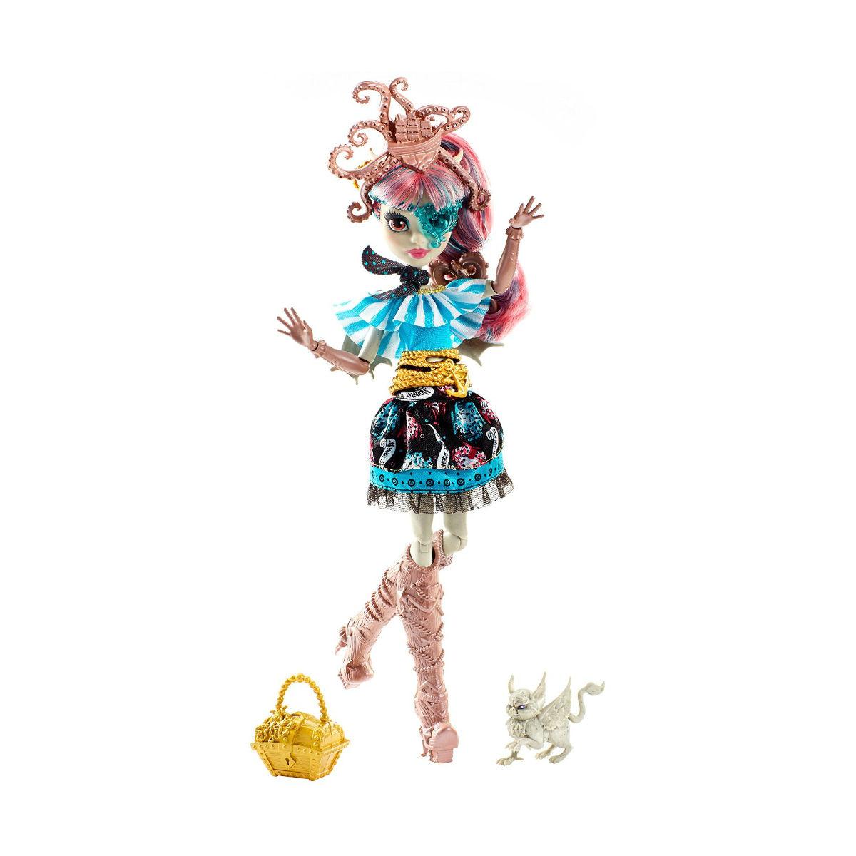 Кукла из серии Монстер Хай: Кораблекрушение - Рошель ГойлКуклы Ever After High и Monster High<br>Кукла из серии Монстер Хай: Кораблекрушение - Рошель Гойл<br>