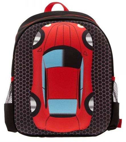 Рюкзак – Машина, черный с красным - Детские рюкзаки, артикул: 169357