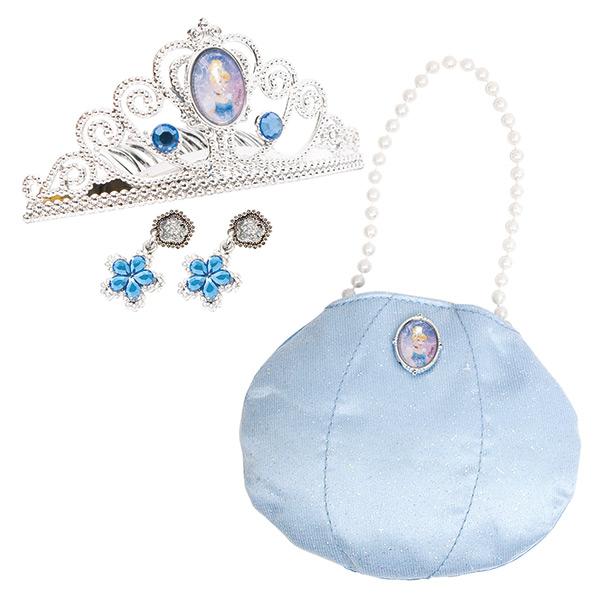 Игровой набор украшений Золушка с сумочкойЮная модница, салон красоты<br>Игровой набор украшений Золушка с сумочкой<br>