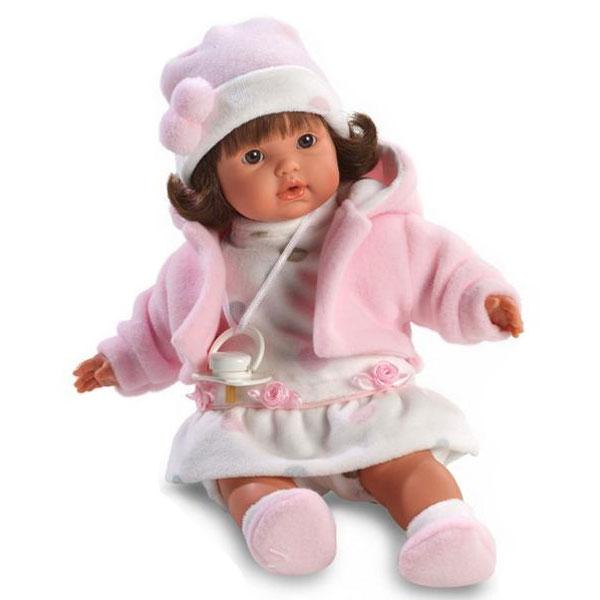 Кукла София 33 смИспанские куклы Llorens Juan, S.L.<br>Кукла София 33 см<br>