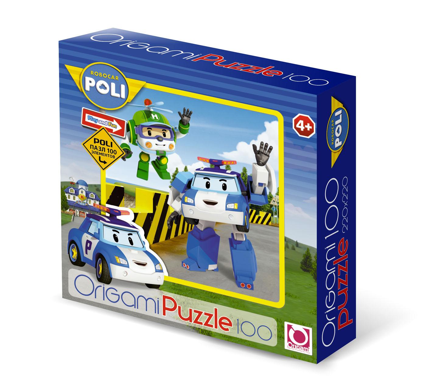 Паззл Robocar Poli 100 элементовRobocar Poli. Робокар Поли и его друзья<br>Паззл Robocar Poli 100 элементов<br>