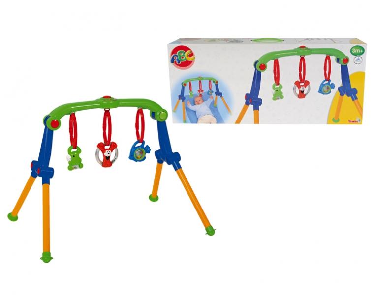 Турникет с 3 погремушкамиРазвивающие игрушки Simba Baby<br><br>