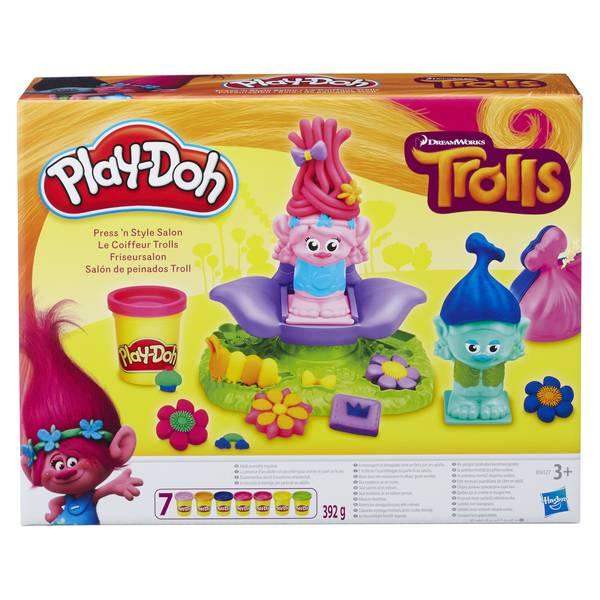 Игровой набор из серии Play-Doh - ТроллиПластилин Play-Doh<br>Игровой набор из серии Play-Doh - Тролли<br>