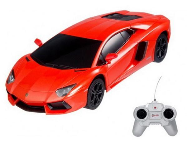 картинка Машина на радиоуправлении 1:24 Aventador LP700, цвет оранжевый от магазина Bebikam.ru