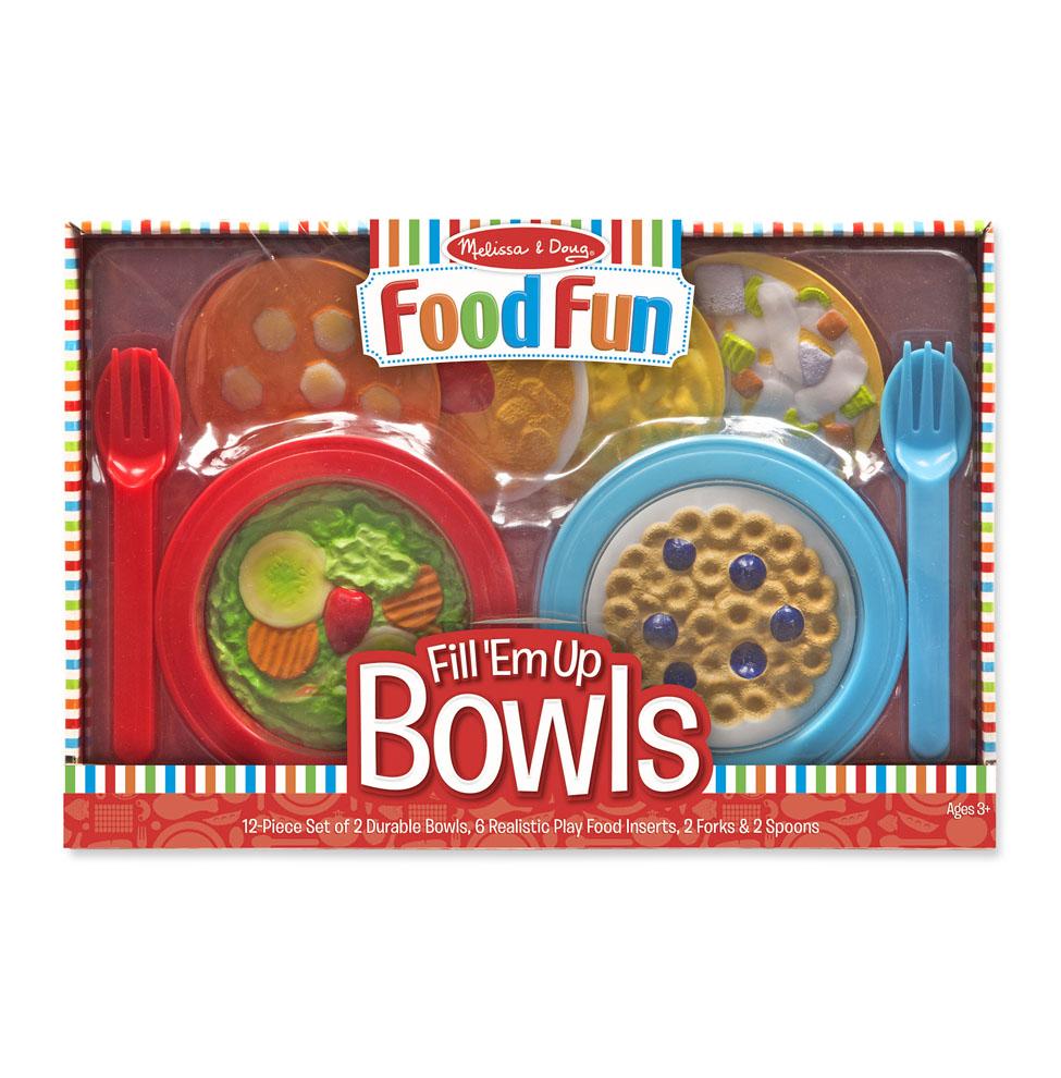 Купить Игровой набор из серии - Готовь и играй - Разложи еду на тарелочки, Melissa&Doug