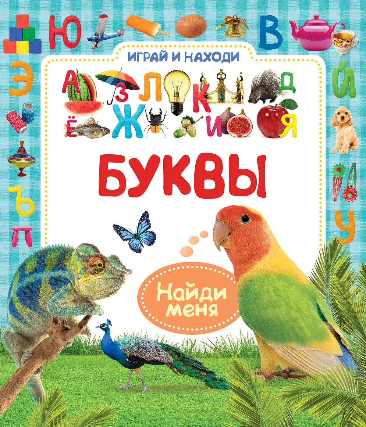 Книжка Играй и находи - БуквыОбучающие книги<br>Книжка Играй и находи - Буквы<br>
