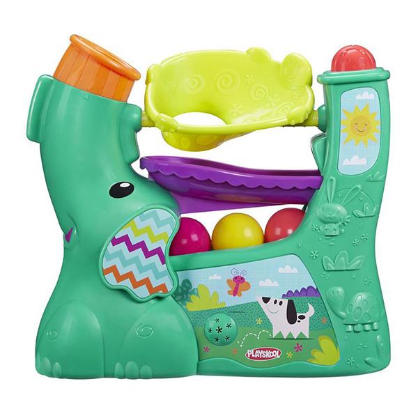 Новый весёлый слоник. Серия PlayskoolРазвивающие игрушки PLAYSKOOL (Hasbro)<br>Новый весёлый слоник. Серия Playskool<br>