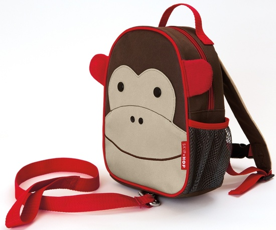 Рюкзак детский с поводком – ОбезьянаДетские рюкзаки<br>Рюкзак детский с поводком – Обезьяна<br>