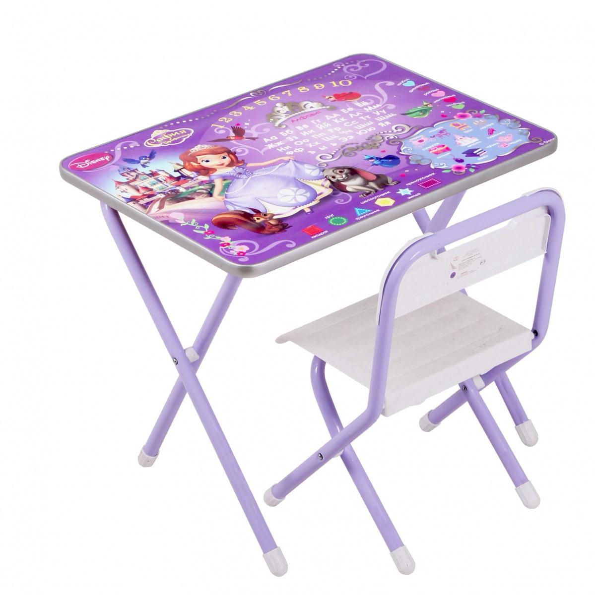 Набор детской мебели №1 София Прекрасная, фиолетовый С) от Toyway