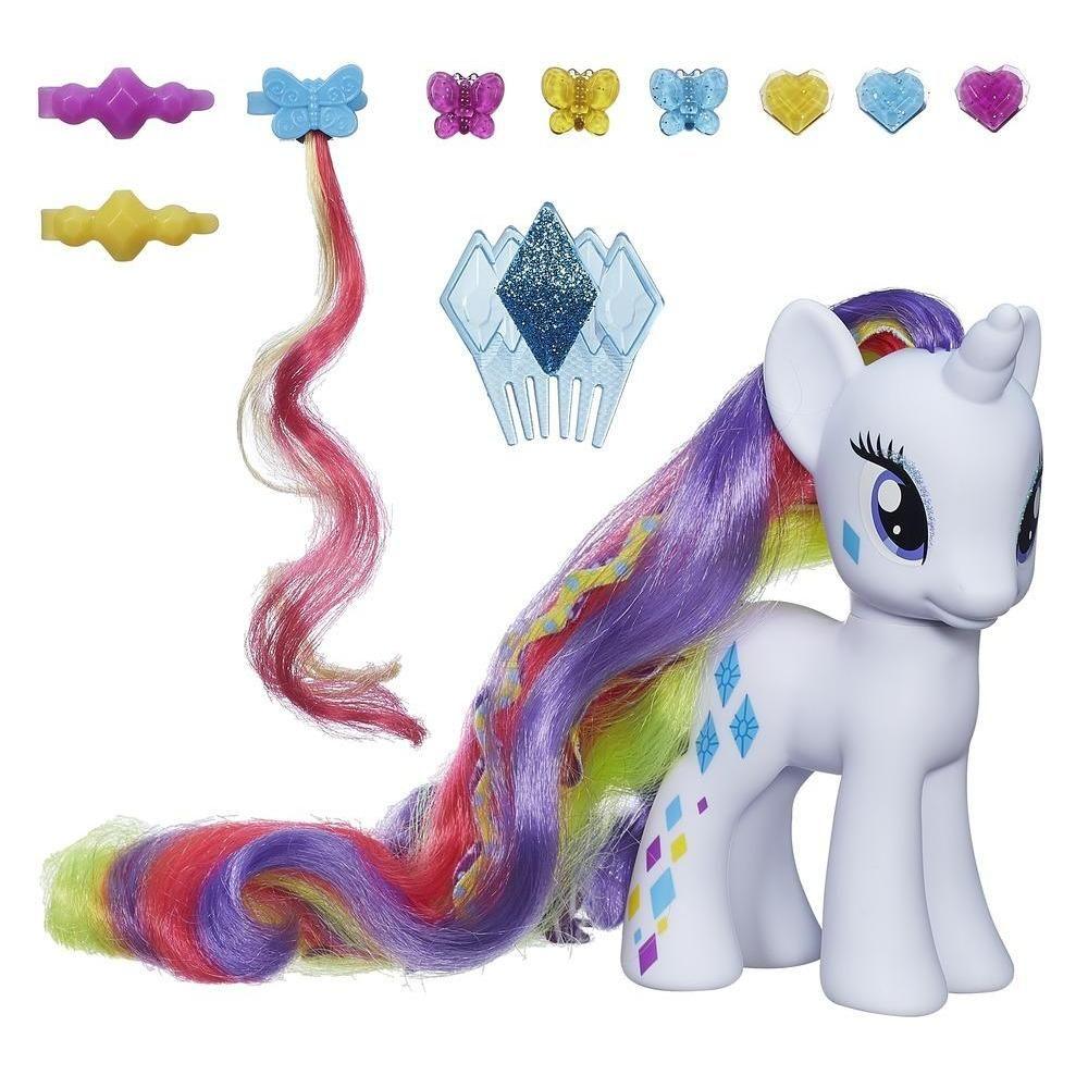 My Little Pony «Пони-модницы» - Делюкс РаритиМоя маленькая пони (My Little Pony)<br>My Little Pony «Пони-модницы» - Делюкс Рарити<br>