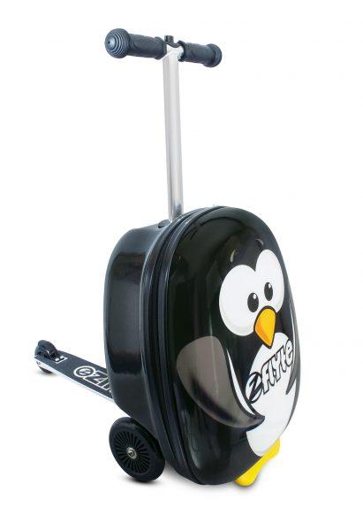 Самокат-чемодан Пингвин
