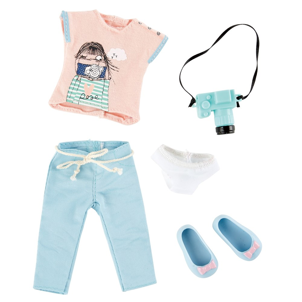 Одежда и обувь для куклы фотографа Луна Kruselings, 23 см