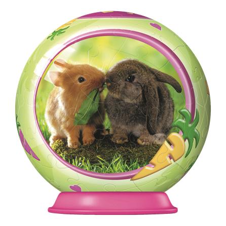 3D Паззл Малые детеныши животныхПазлы объёмные 3D<br>3D Паззл Малые детеныши животных<br>