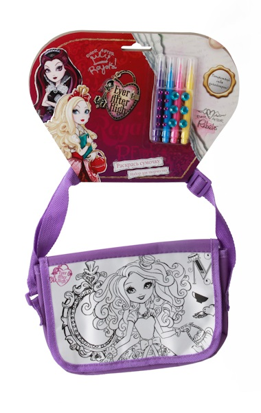 Сумочка для росписи Ever After HighКуклы Ever After High и Monster High<br>Сумочка для росписи Ever After High<br>