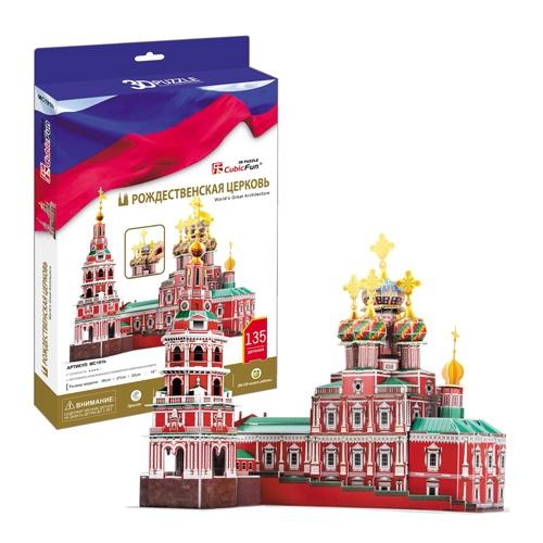 Купить 3D пазл Рождественская церковь, Cubic Fun
