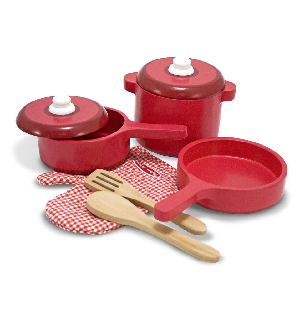Набор кухонных принадлежностей - Готовь и играйАксессуары и техника для детской кухни<br>Набор кухонных принадлежностей - Готовь и играй<br>