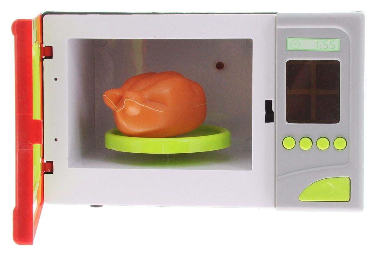 Микроволновая печь «Помогаю маме», звуковые и световые эффектыАксессуары и техника для детской кухни<br>Микроволновая печь «Помогаю маме», звуковые и световые эффекты<br>