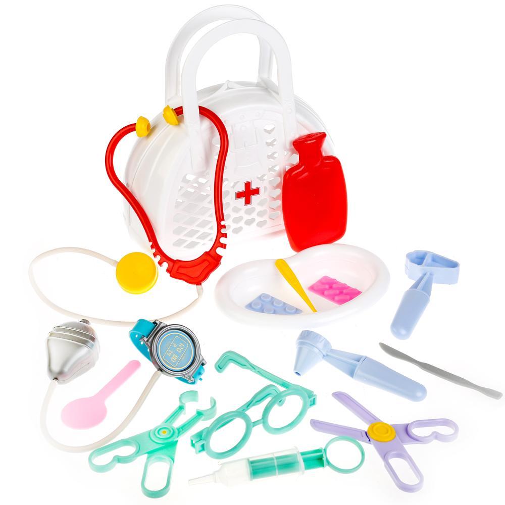 Игровой набор в сумке - Доктор №3, 16 предметов фото