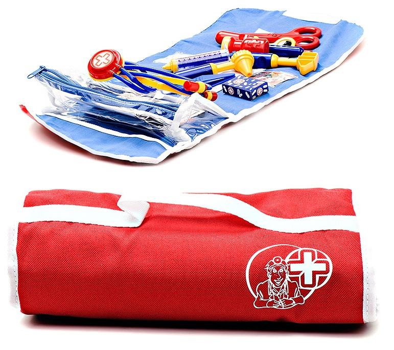 Simba Детский набор доктора в сумочке, 15 предметов