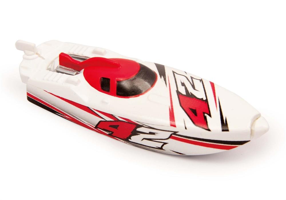 Роболодка Micro Boats, бело-красная от Toyway