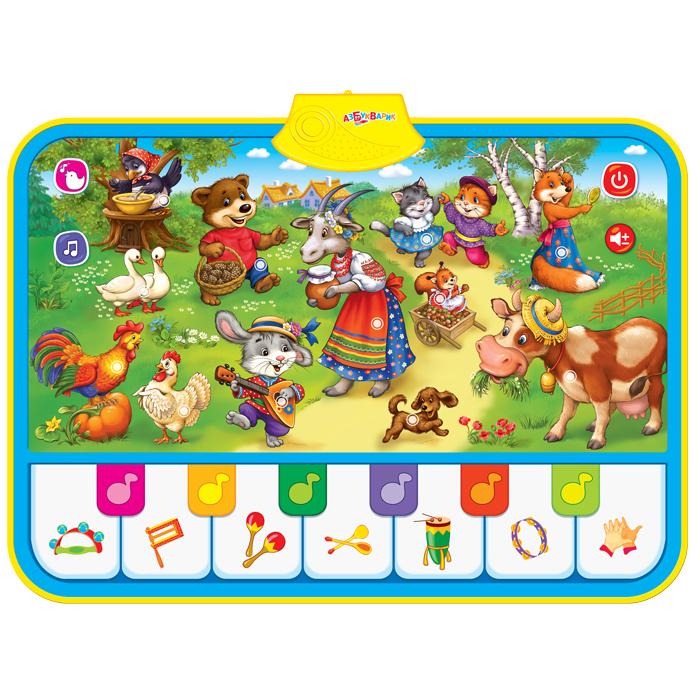 Коврик музыкальный  Топ-топ, топотушки, 70 х 50 см - Интерактив для малышей, артикул: 157726