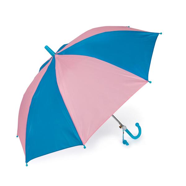 Зонт двухцветный со свистком, несколько вариантов цветового исполненияДетские зонты<br>Зонт двухцветный со свистком, несколько вариантов цветового исполнения<br>