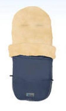 Купить Зимний конверт MT2280-LP Lambskin-Bugaboo Footmuff, navy blue, Altabebe