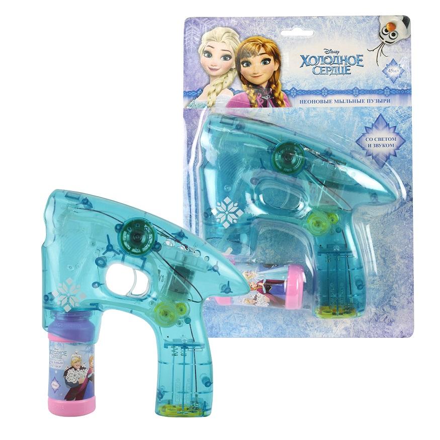 Купить Мыльный пистолет из серии Disney Холодное сердце, светится в темноте, звук, 1TOY