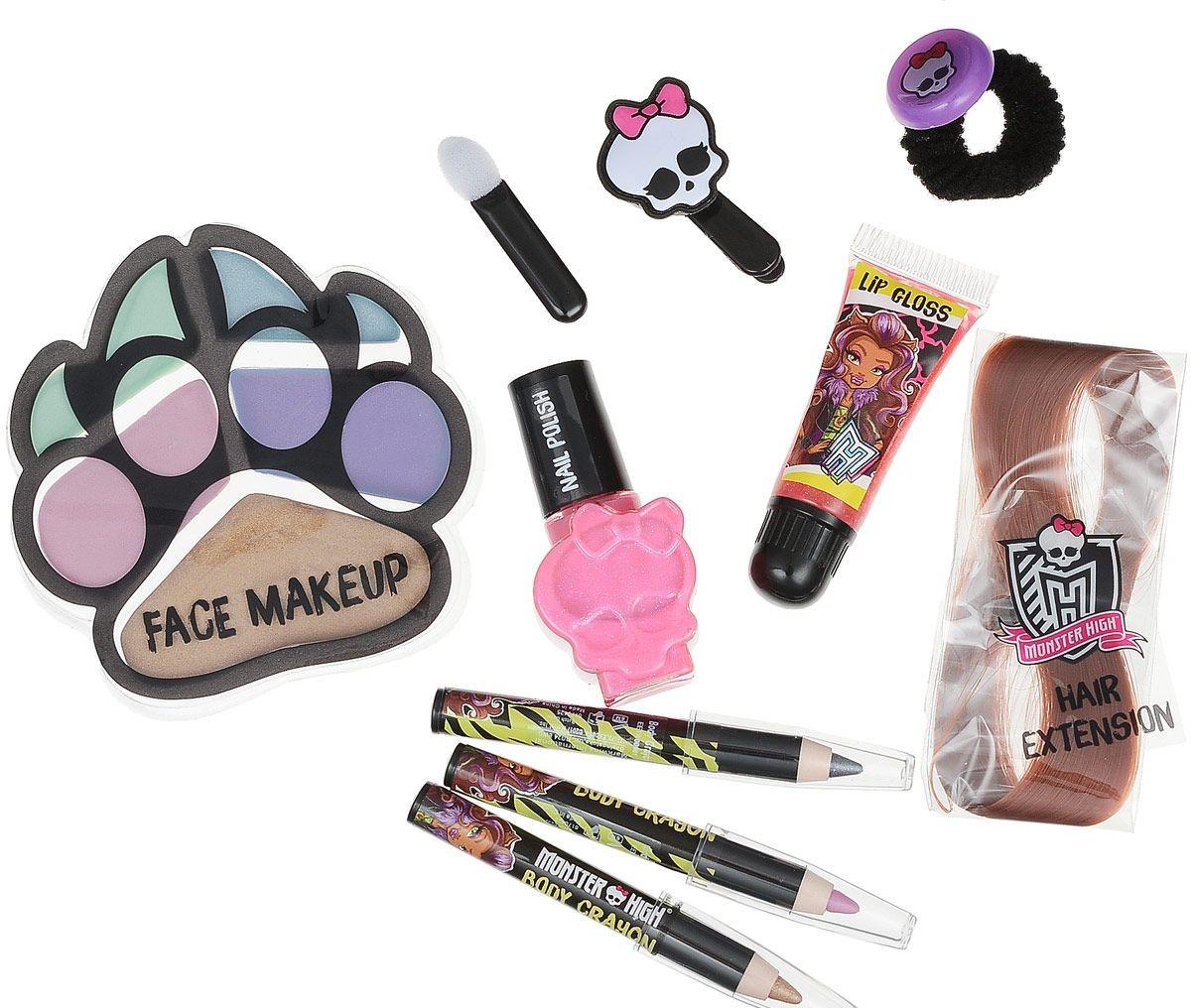 Игровой набор детской декоративной косметики Monster High ClawdeenЮная модница, салон красоты<br>Игровой набор детской декоративной косметики Monster High Clawdeen<br>
