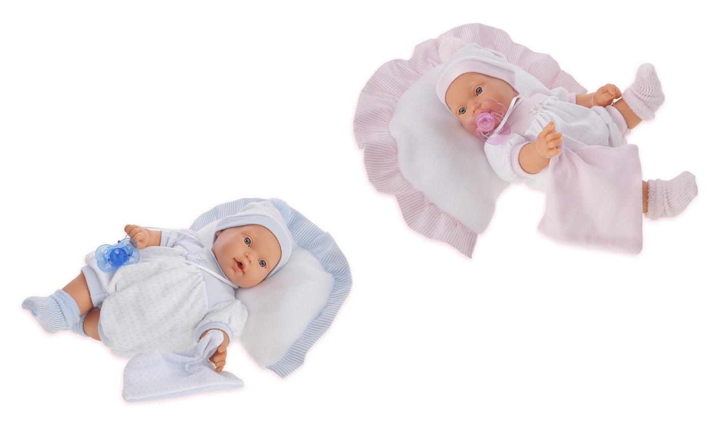 Купить Кукла Химена в розовом, плачет, 27 см., Antonio Juans Munecas