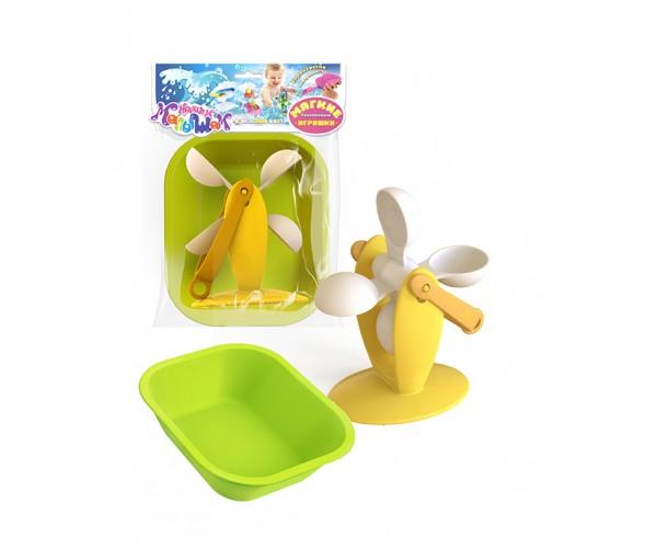 Купить Игрушка для ванны – Водяное колесо, ванночка, Биплант
