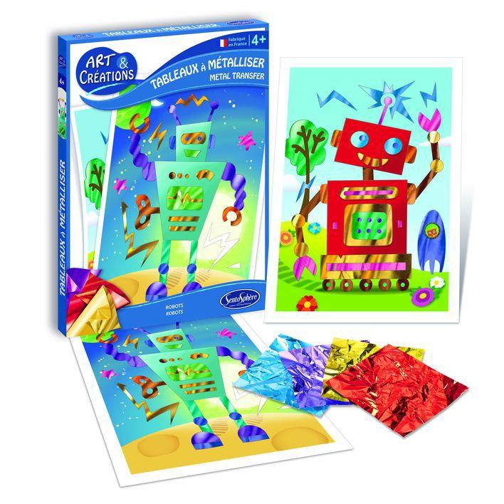 Набор для детского творчества - Роботы