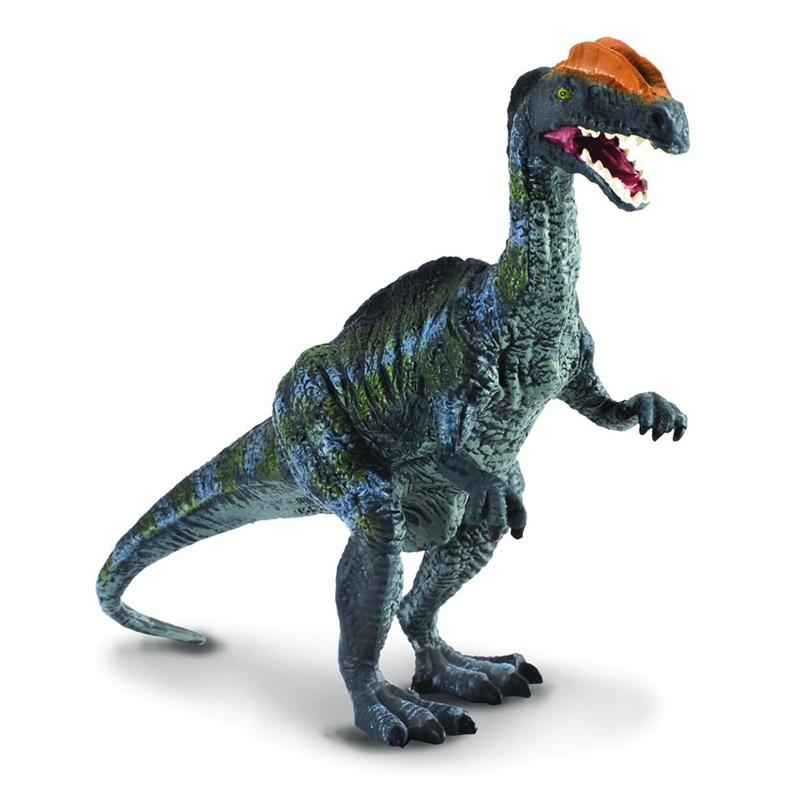 Дилофозавр, синий, LЖизнь динозавров (Prehistoric)<br>Дилофозавр, синий, L<br>