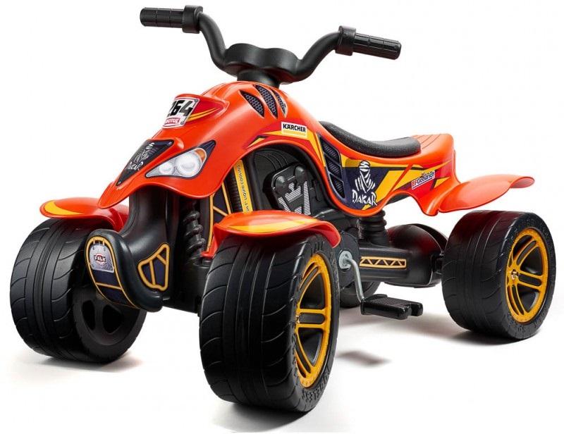 Педальная машина - Квадроцикл, красный, 84 см