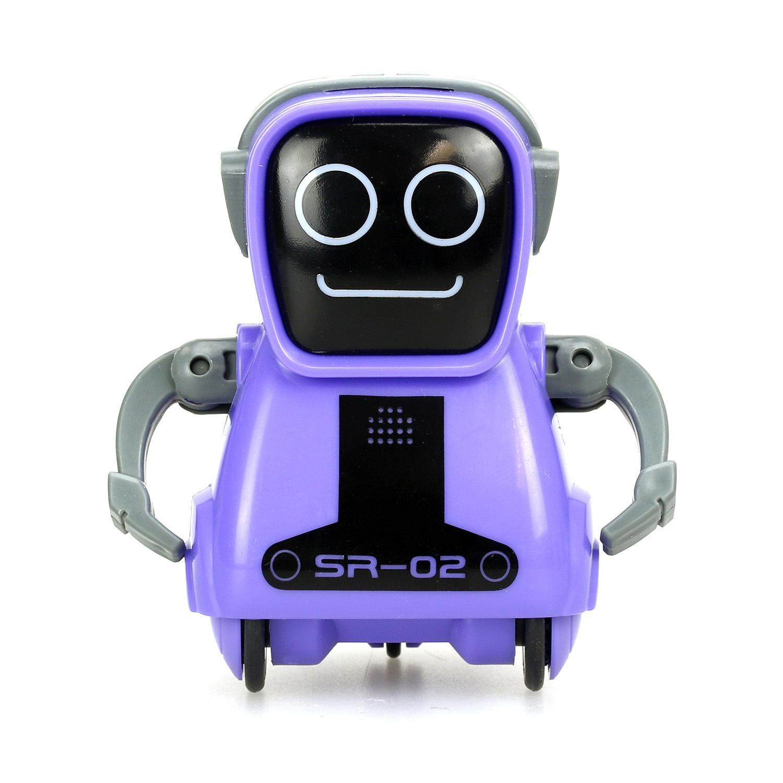 Купить Робот - Покибот, фиолетовый, свет и звук, Silverlit
