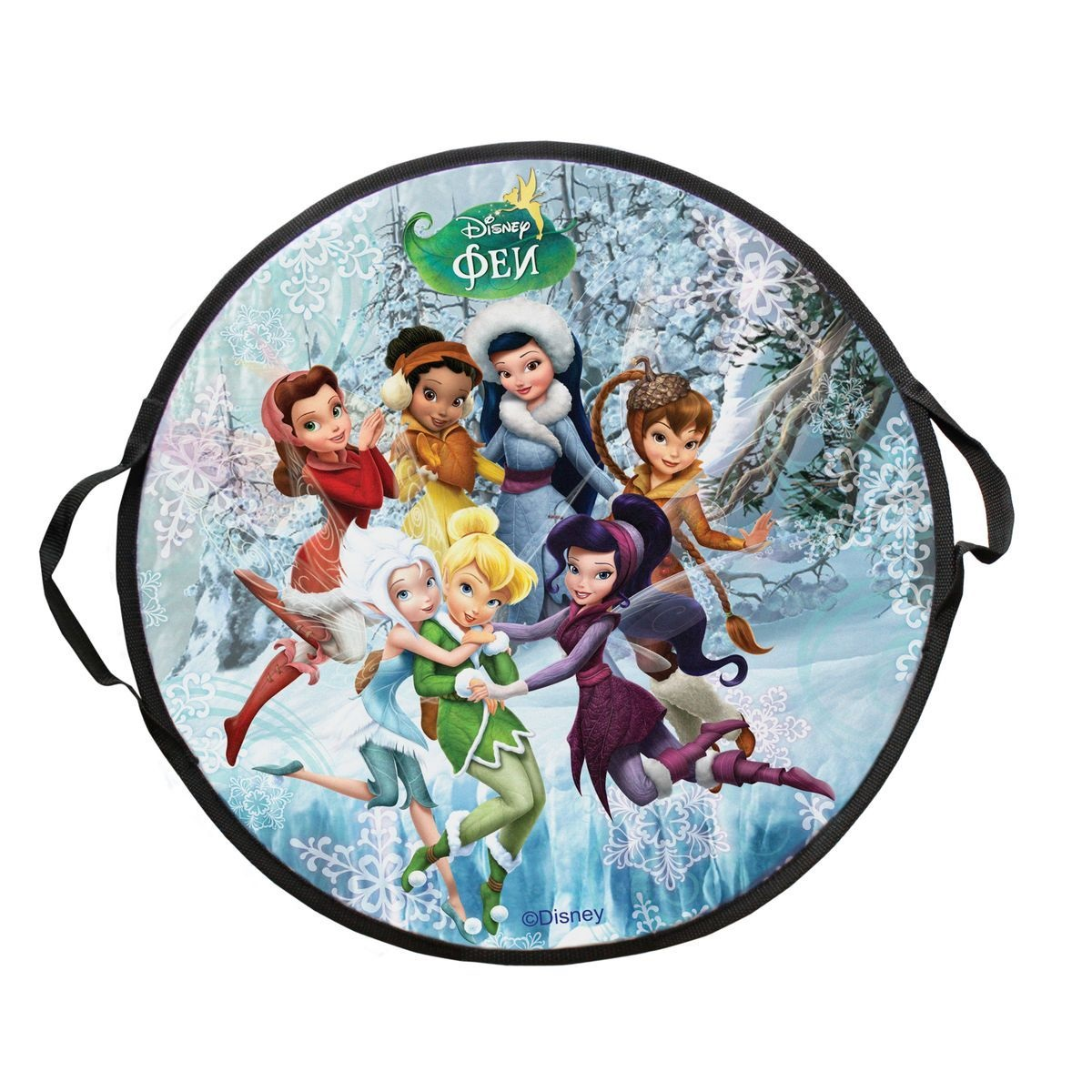 Ледянка круглая из серии Disney Феи, размер 52 см. 1TOY
