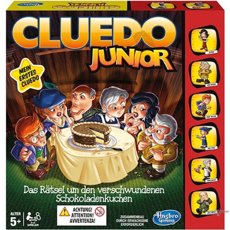 Games. Игра Клуэдо  Мое первое Клуэдо  5+ - Логические, артикул: 135002