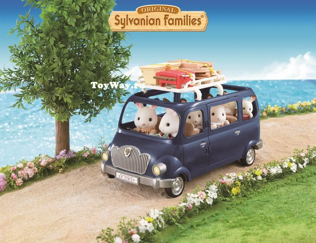 Sylvanian Families - Семейный автомобиль, 7 местТранспорт и Коляски<br>Sylvanian Families - Семейный автомобиль, 7 мест<br>