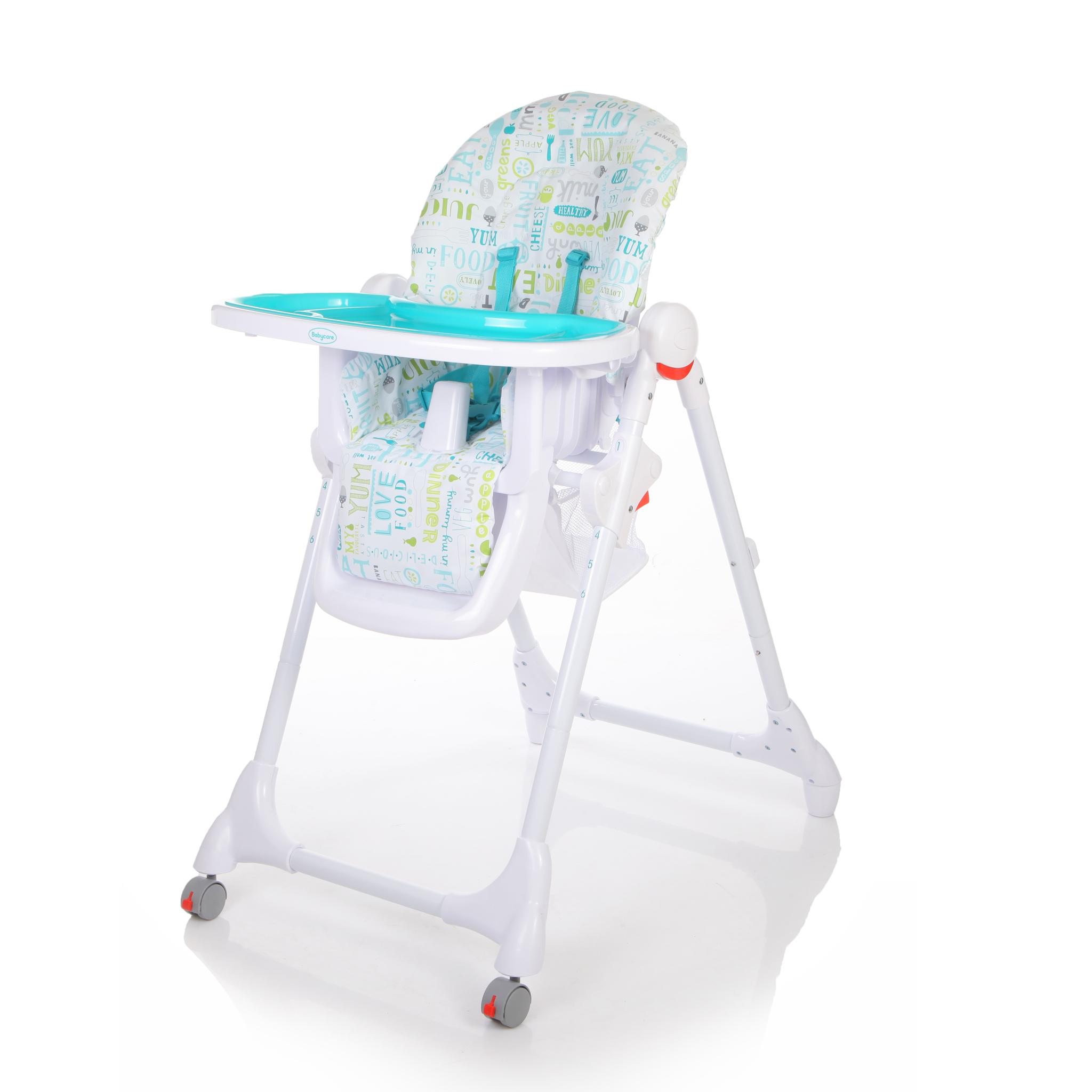 Купить Детский стульчик для кормления Baby Care – Fiesta, синий